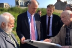Chris Grayling visits the A30