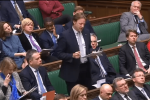 Derek speaks in parliament