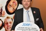 Derek supporting diabetes event